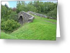 White Bridge Scotland Greeting Card