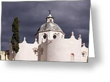 White Church Greeting Card by Jeremy Woodhouse