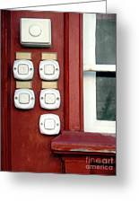 White Doorbells Greeting Card