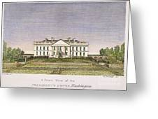 White House, D.c., 1820 Greeting Card