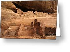 White House Ruin Canyon De Chelly Greeting Card