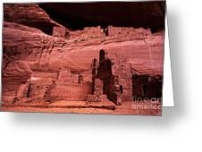 White House Ruin New Mexico Greeting Card