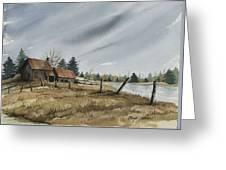 White Lake Greeting Card