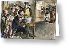 White League, 1874 Greeting Card