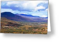 White Mountains Vista Greeting Card
