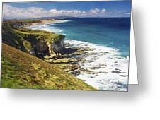 White Rocks, Portrush, Co Antrim Greeting Card
