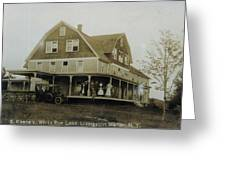 White Roe Boarding House-owner E Keene Prior To My Grandfather. Circ 1900s Greeting Card