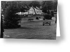 White Roe Lake Hotel - Livingston Manor Ny - Lawn To Lake Greeting Card