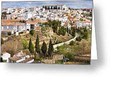 White Town Of Ronda Greeting Card