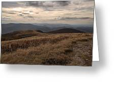 Whitetop Mountain Virginia Greeting Card