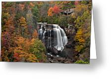 Whitewater Falls 2 Greeting Card