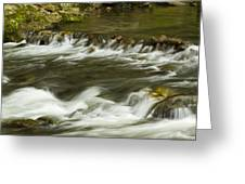 Whitewater River Rapids 3 Greeting Card