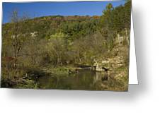 Whitewater River Scene 20 A Greeting Card