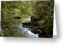Whitewater River Spring 11 Greeting Card
