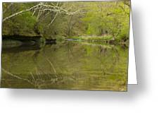 Whitewater River Spring 13 Greeting Card