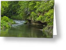 Whitewater River Spring 5 B Greeting Card