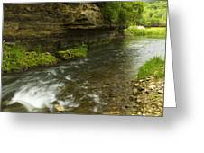 Whitewater River Spring 6 Greeting Card