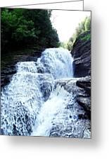 Whittaker Falls Ny Greeting Card
