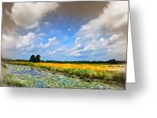 Wide Country Greeting Card