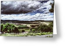 Wide Land Greeting Card
