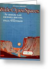 Wide Open Spaces Greeting Card by Mel Thompson