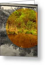 Wide View Focus Greeting Card