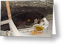 Wieliczka Salt Mine  Greeting Card