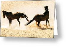 Wild Dust Greeting Card