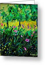 Wild Flowers 451190 Greeting Card