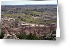 Wild Mountain Goat On Top Of The Badlands Greeting Card