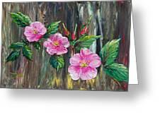 Wild Roses 09 Greeting Card