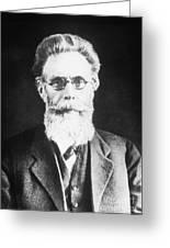 Wilhelm Roentgen, German Physicist Greeting Card