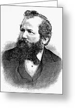 Wilhelm Steinitz (1836-1900) Greeting Card