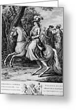 Wilhelmina Of Prussia Greeting Card