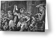 Wilkes And Liberty Riots Greeting Card