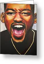 Will Smith Greeting Card