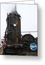 Willamette Steam Engine 7d15105 Greeting Card by Wingsdomain Art and Photography