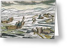 Willem Barents (c1550-1597) Greeting Card