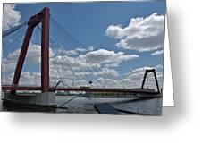 Willemsbrug Greeting Card
