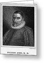 William Ames (1576-1633) Greeting Card