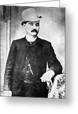 William Barclay Masterson Greeting Card