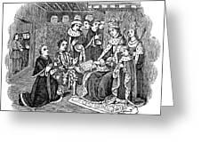 William Caxton (c1421-1491) Greeting Card