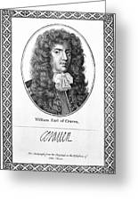 William Craven (1608-1697) Greeting Card