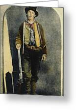 William H. Bonney Greeting Card