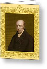 William Hyde Wollaston, English Chemist Greeting Card
