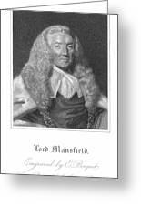 William Murray (1705-1793) Greeting Card