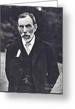 William Ramsay, Scottish Chemist Greeting Card