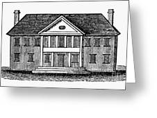 Williamsburg: Capitol Greeting Card