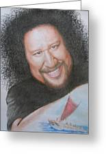 Willie K -hui O Wa'a Greeting Card