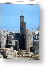 Willis Sears Tower 01 Chicago Greeting Card